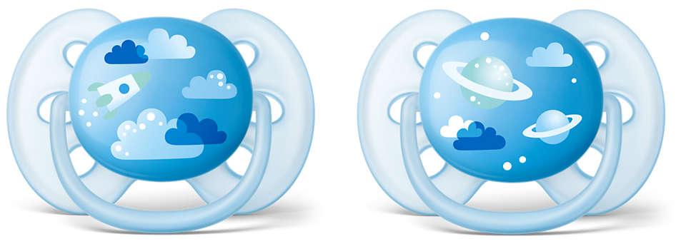 Bebeğinizin hassas cildi için en yumuşak emzik