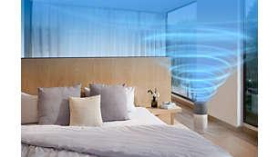 Hohe Leistung geeignet für Räume von bis zu 135m²