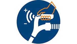 ErgoGrip 遥控器,提供即时轻松的控制体验