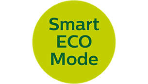 Energy saving Smart ECO mode for minimal transmission