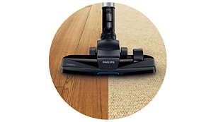 Nova četka TriActive+ s trostrukim djelovanjem kupi krupnu i sitnu prašinu