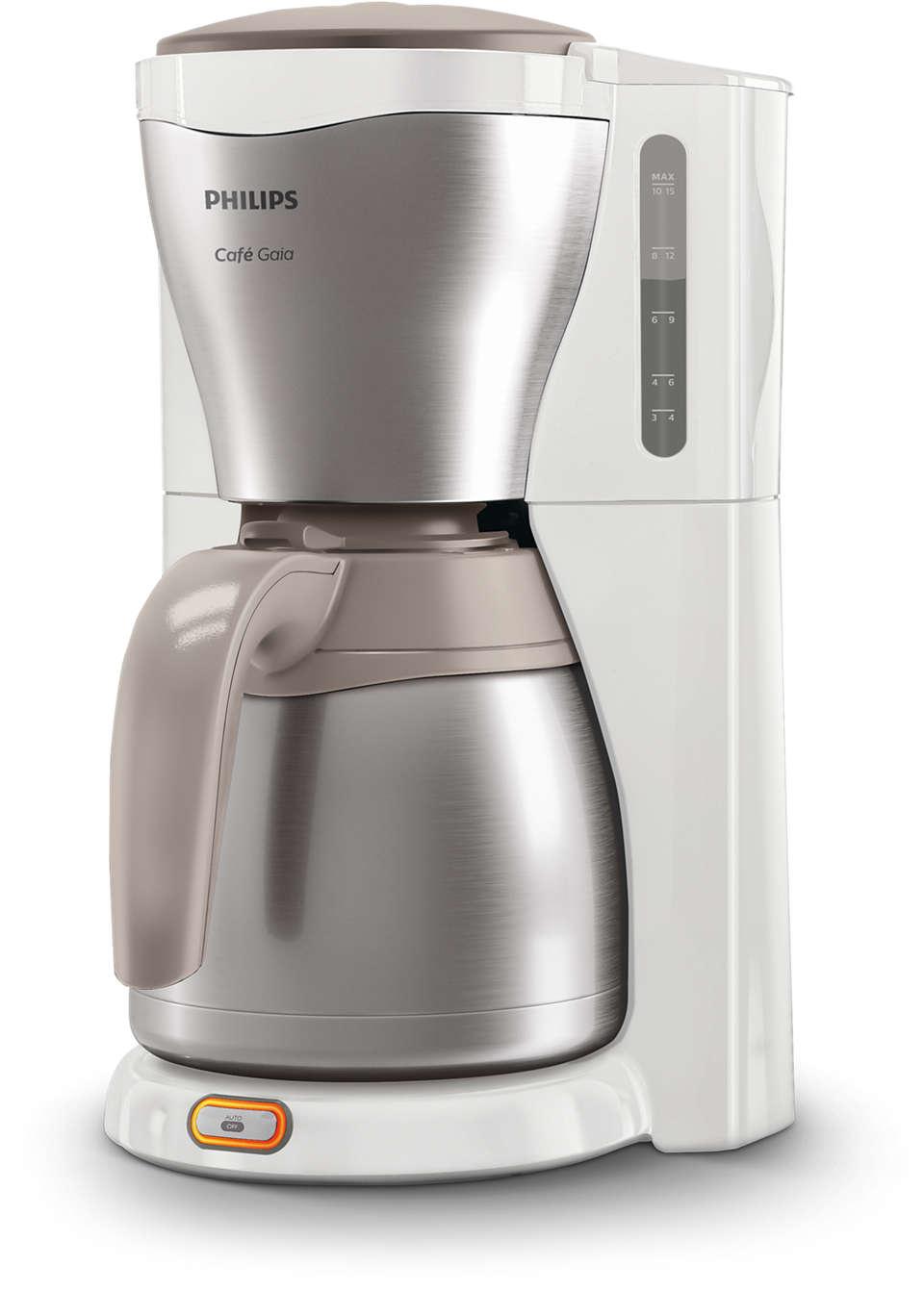 Heerlijke, hete koffie uit ons iconische design
