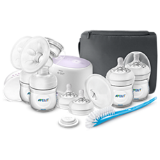 SCF334/23 Philips Avent Double breast pump, bottle & brush set
