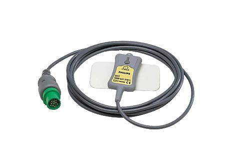 Wiederv. DEKG-Beinplatten-Adapter, Spacelabs Direktes EKG