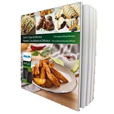HD9935/02  Airfryer Cookbook