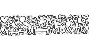 Hravé Haringovy ikony projasní váš den
