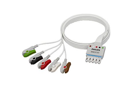 5‑adriges Elektrodenkabel Elektrodenkabel