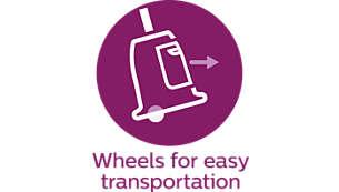 Wheels for easy transportation