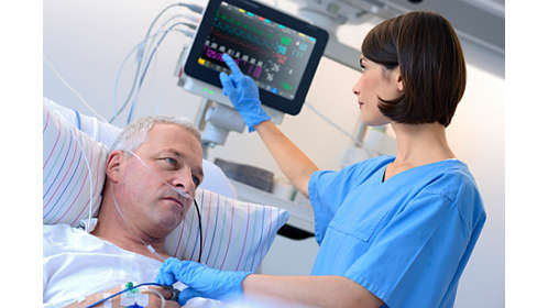 Philips - IntelliVue MX500 Patient Monitor