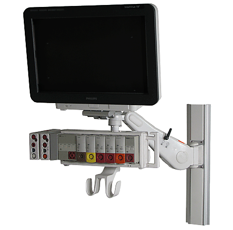Intellivue MX800 Wall Mounting Mounting solution