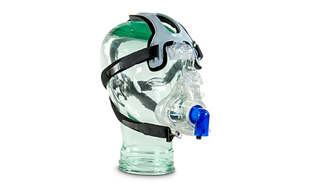 PerformaTrak Oro-Nasal Mask with CapStrap Standard Elbow NIV Mask