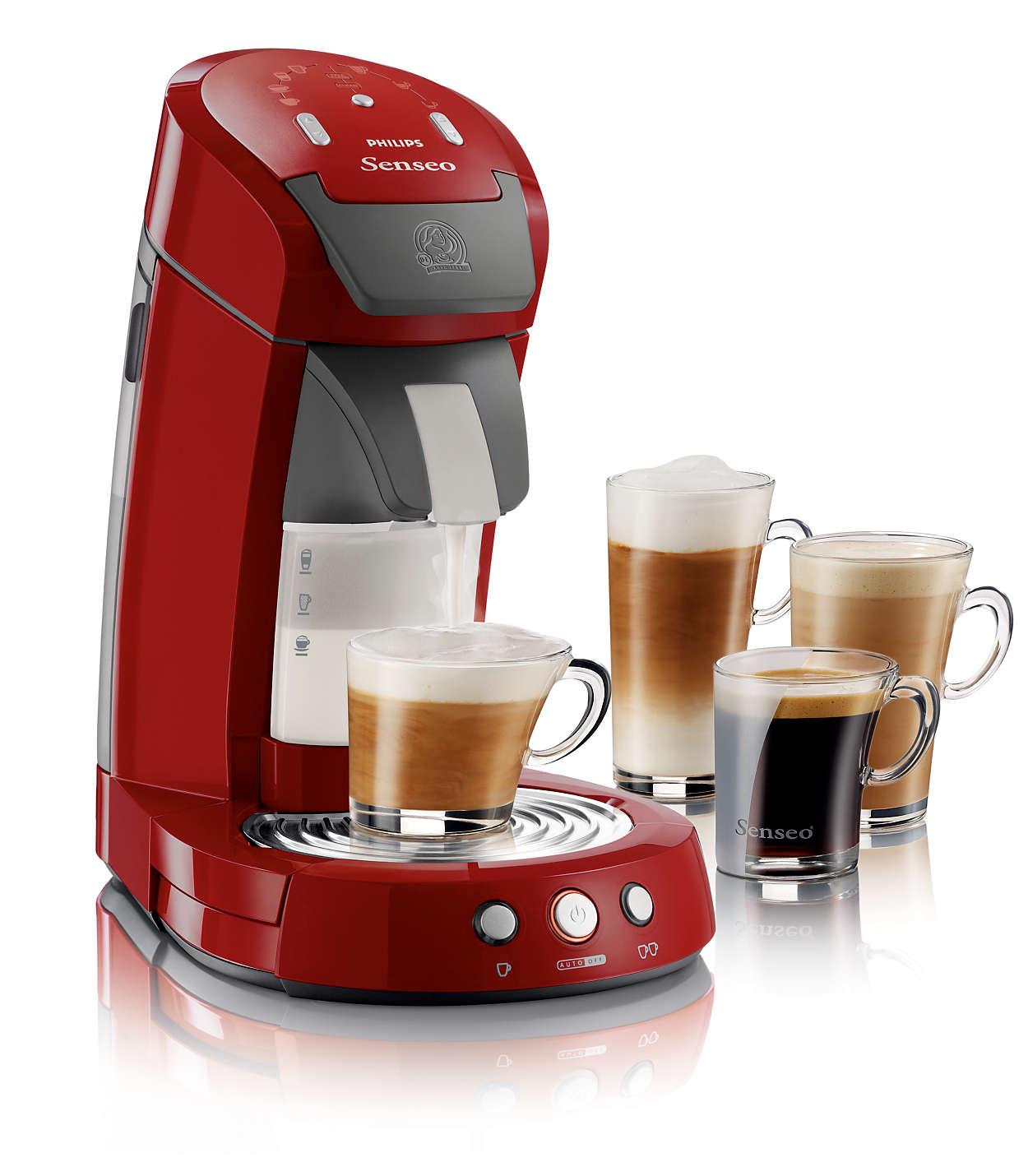 Objevte své oblíbené kávové speciality