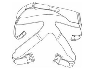 PerforMax Klein, mit Scheitelband