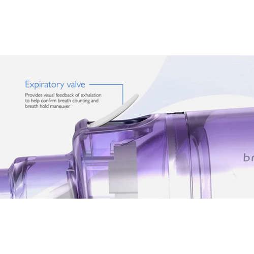 OptiChamber Diamond Holdekammer med ventiler og maske