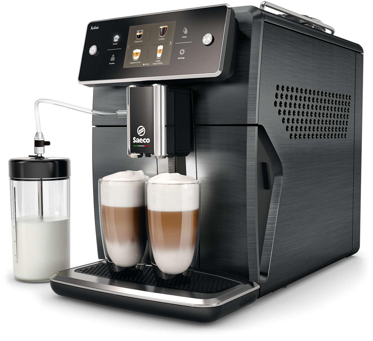 The most advanced Saeco espresso machine yet