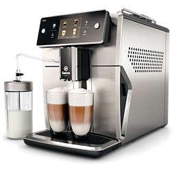 Saeco Xelsis Automatický kávovar s dotykovým displejem