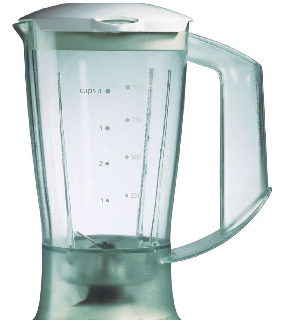 Plastic blender jar
