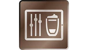 Z aplikacijo lahko enostavno prilagodite in shranite vsak napitek