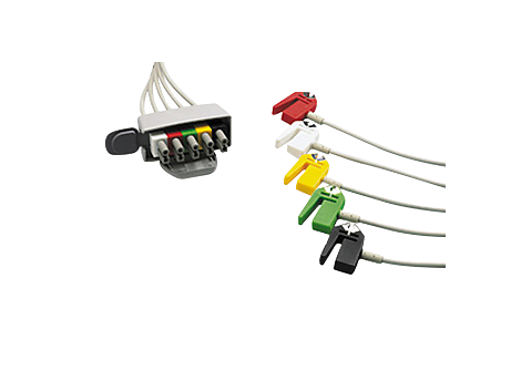 5-lead set grabber IEC Telemetry Lead Set