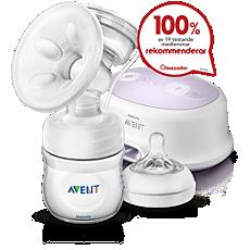 SCF332/01 Philips Avent Comfort, enkel elektrisk bröstpump