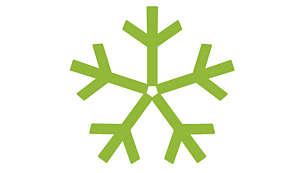 Passar för förvaring i kyl och frys