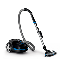 FC8578/69 Performer Active Bagged Cylinder Vacuum Cleaner, Anti-Allergen
