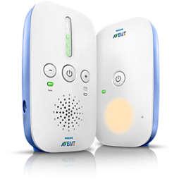 Avent Audio Monitors جهاز مراقبة الطفل بتقنية DECT