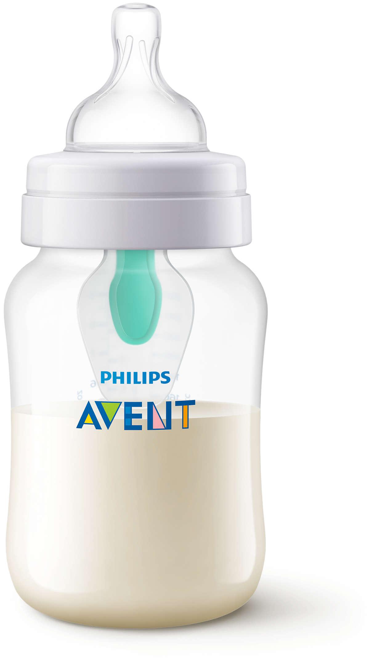 Conçus pour réduire les coliques, les gaz et les reflux*