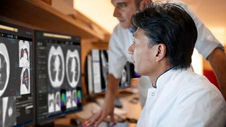 Gestione dei pazienti con patologie polmonari in un'unica lettura