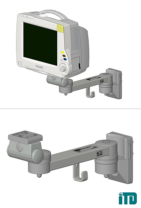Intellivue MX800 Mounting solution