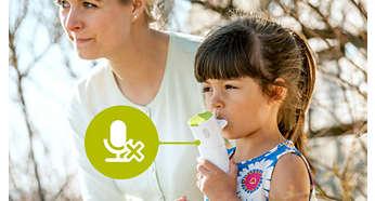 Mobile Inhalationstherapie, jederzeit einsatzbereit